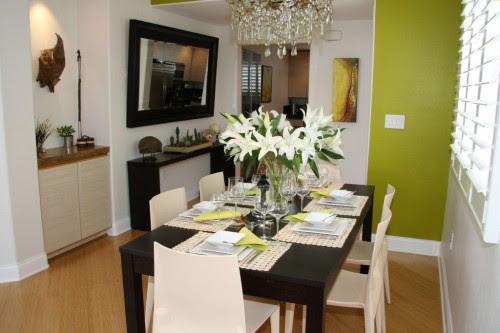 18 Ruang Makan Mungil Minimalis Terindah