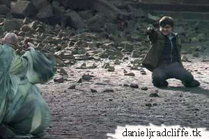 Harry Potter and the Deathly Hallows part 2, Behind the scenes photos: The Battle