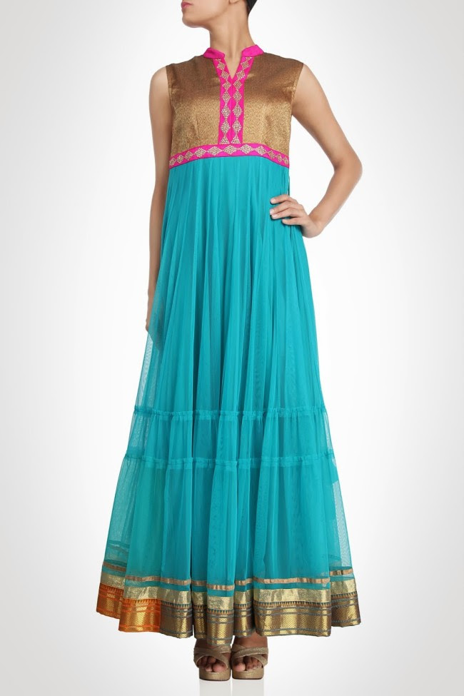 Girls-Wear-Beautiful-Maxi-Anarkali-Fashion-Frock-Fashion-by-Designer-Debashri-Samanta-3