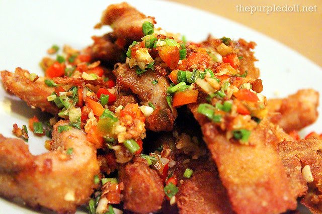 Deep-fried Pork Ribs with Spicy Salt and Pepper (P288)