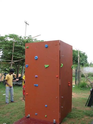 Mobile Climbing Wall 1