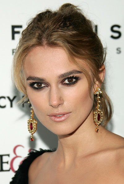 Actress Keira Knightley attends the premiere of 'Pride & Prejudice' at Loews