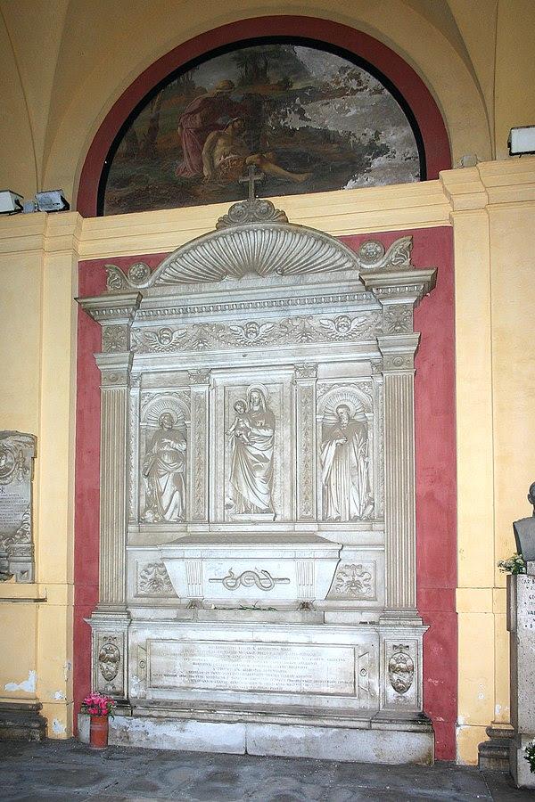 File:Benedetto Viale Prelà's tomb, Cimitero del Verano, Rome.JPG