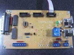Giao diện điều khiển CNC với PIC12F629 và 74HC244N