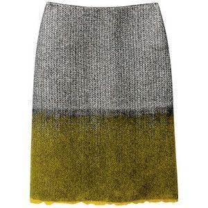 Prada Shetland-Wool Skirt