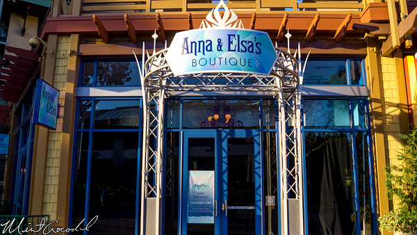 Disneyland Resort, Downtown Disney, Anna, Elsa, Boutique