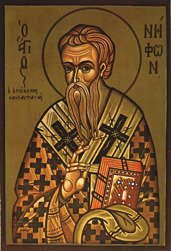 ST. NIPHON, the Wonderworker, Bishop of Cyprus