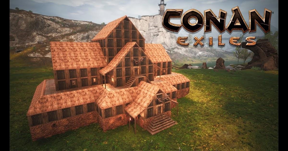 Bunkhouse Travel Trailer Floor Plans 2019 Conan Exiles Viking House Build 300 Doovi