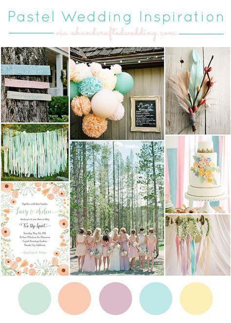 1000  ideas about Pastel Wedding Colors on Pinterest