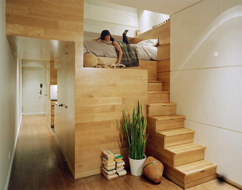Tiny Yet Very Cosy Studio Apartment Design | DigsDigs