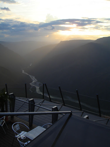Sunset in Chicamocha Canyon Park - Colombia by Laura Olejua - www.lauraolejua.com