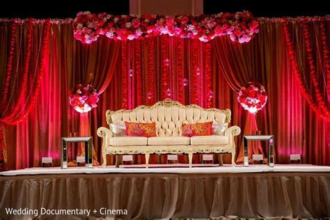 modern wedding reception stage decoration   Wedding