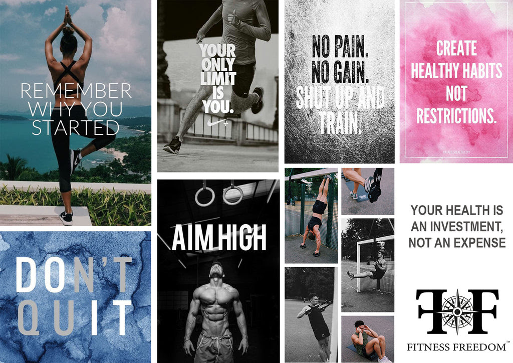Some Inspirational Fitness Quotes To Give You That Extra Motivation Fitness Freedom Gear