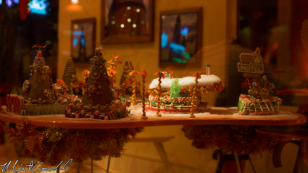 Disneyland Resort, Disney California Adventure, Cars Land, Christmas, Time, Cozy Cone Motel