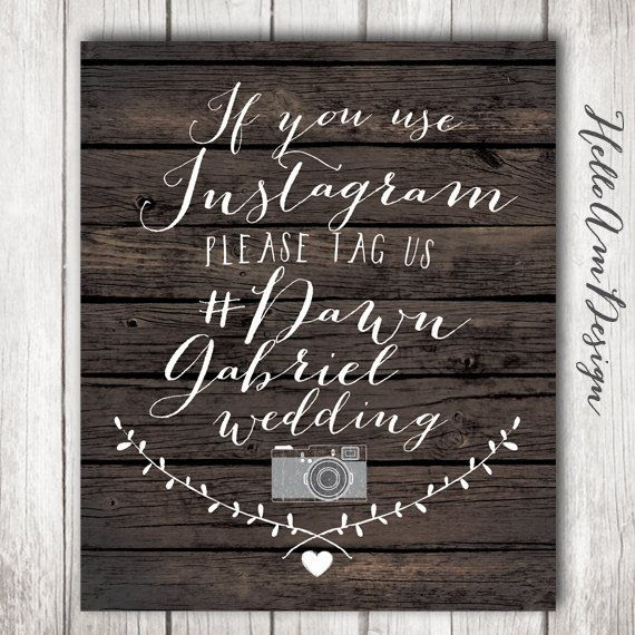 HelloAm, Wedding chalkboard by signs Chalkboard Instagram $9.90 Signs  Sign rustic Rustic
