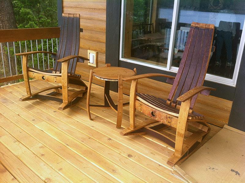Wildgrain Woodworking Categories Wine Barrel Furniture
