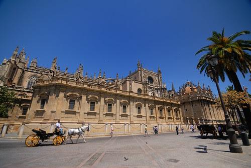 Lateral de la Catedral - Sevilla