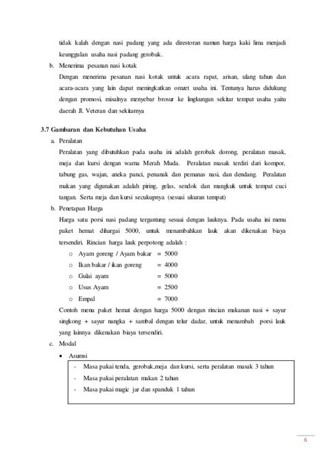 Analisis Swot Usaha Rumah Makan Padang Info Terkait Rumah