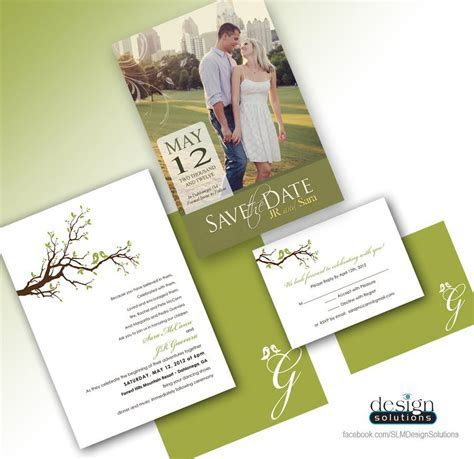 Save the Dates and Wedding Invitations! Custom designs and