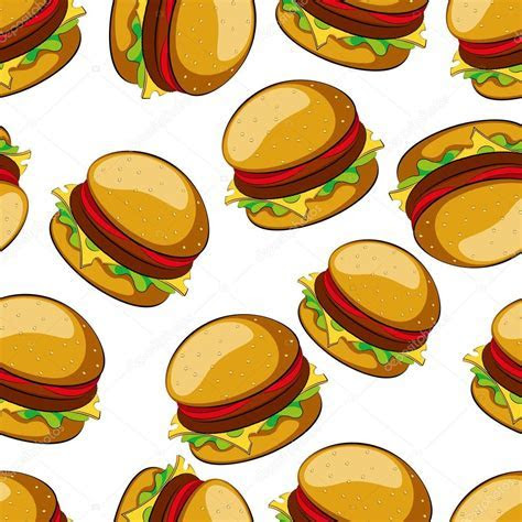 Hamburger ? Stock Vector © gorbovoi81 #54757827