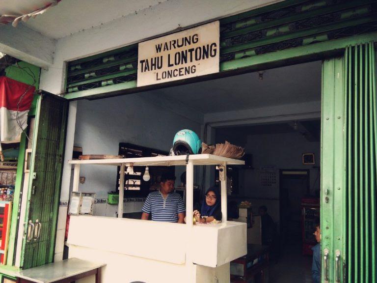 Warung Tahu Lontong Lonceng (dok: pribadi)