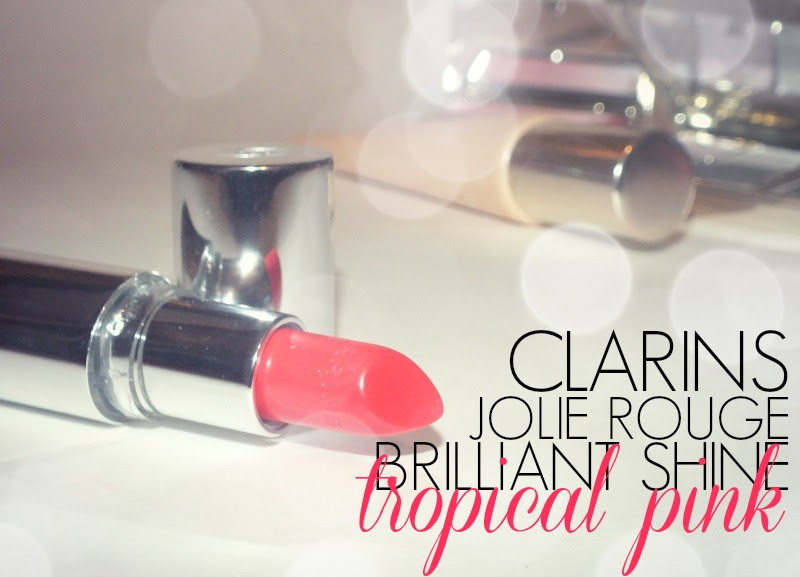 Clarins Jolie Rouge Brilliant Shine- 19 Tropical Pink (4)