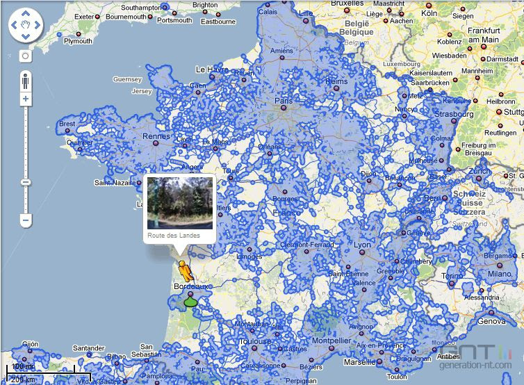 Google Maps Street View France
