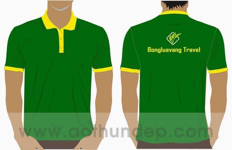 Đồng phục bông lúa vàng Travel