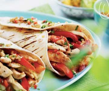 Chicken Fajitas - Lunch & light meals