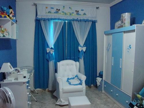 Resultado de imagem para decoração de quarto de bebe masculino azul