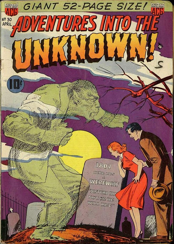 American Comics Group Adventures into the Unknown 30