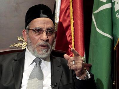 El líder de los Hermanos Musulmanes Mohamed Badiel.