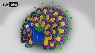 92 Gambar Burung Merak Dari Stik Es Krim HD Terbaik
