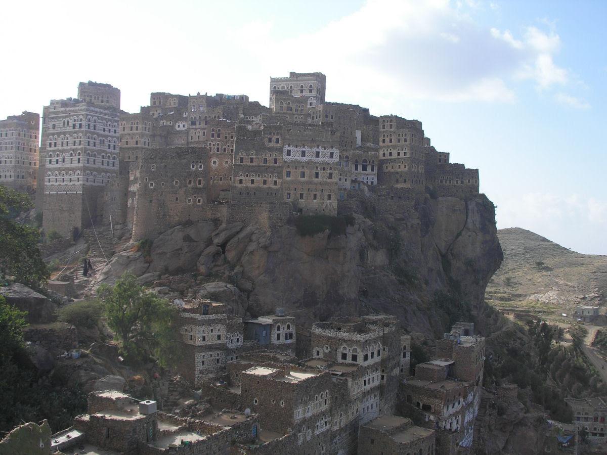Al Hajjarah, a cidade da Idade Média com edifícios de vários andares 14