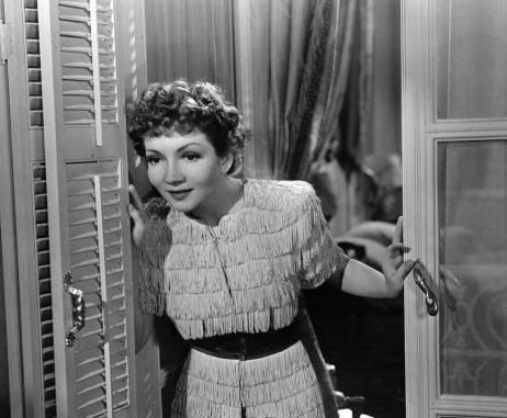 Claudette Colbert as Eve Peabody in Midnight