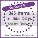 365 Items in 365 Days Challenge
