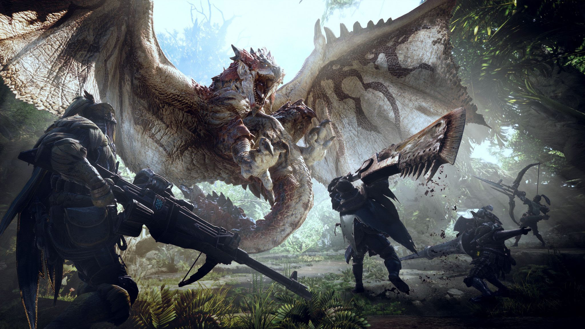 Contest open to design a weapon for Monster Hunter: World screenshot