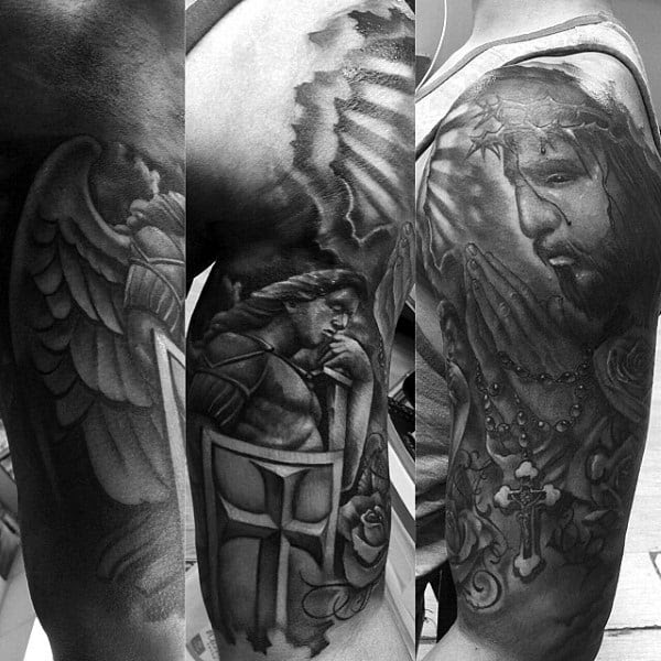 Praying Hands Tattoos For Men Ideas And Designs For Guys