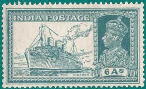 SG # 256, 1936, Mail Steamer