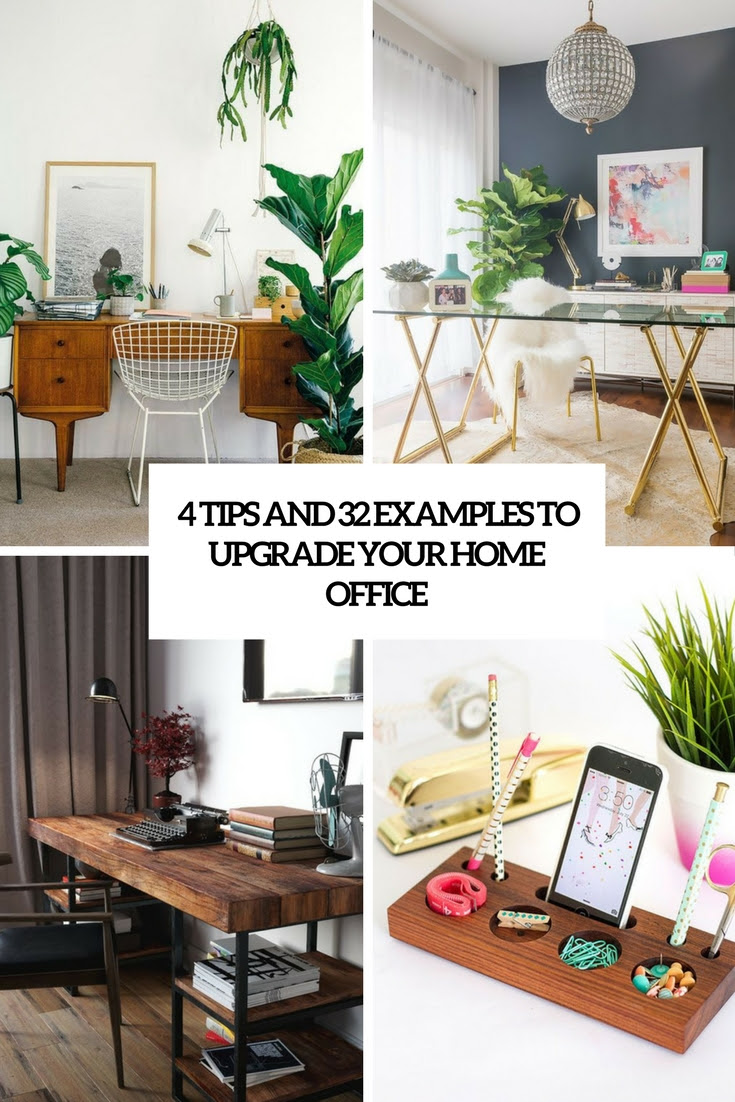 4 Tips And 32 Examples To Upgrade Your Home Office - DigsDigs