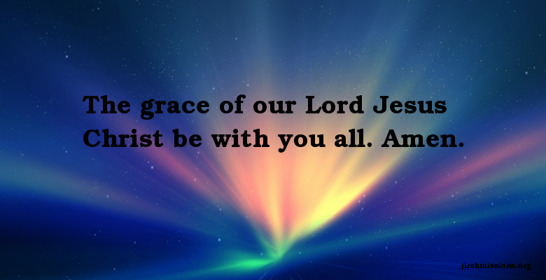 Grace Of God Heaven Voice Jireh Missions