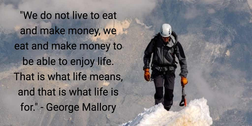 Image result for george mallory quotes