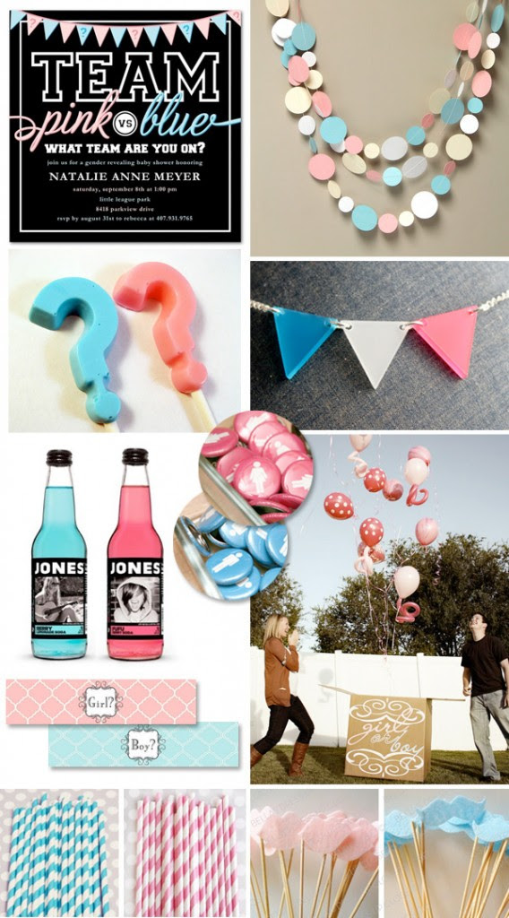 Gender Reveal Party Ideas Pink Vs Blue Picks Hostess With