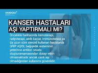 Pandemide Kanser Hastaları - Anadolu Sağlık Merkezi