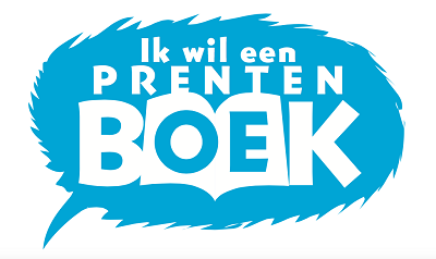 Ik wil een prentenboek logo
