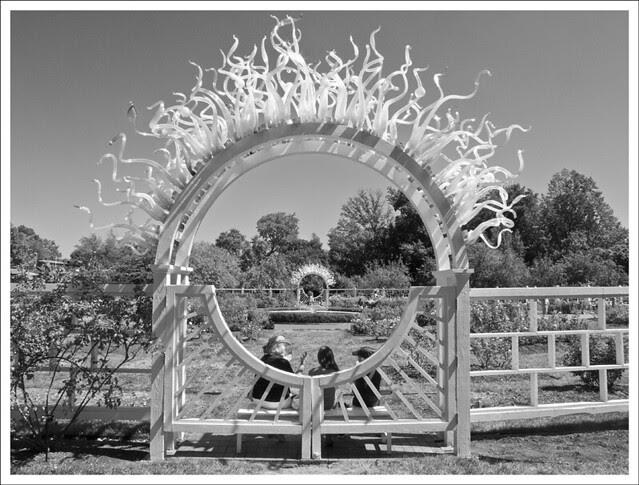Chiluly Gate at Missouri Botanical Garden