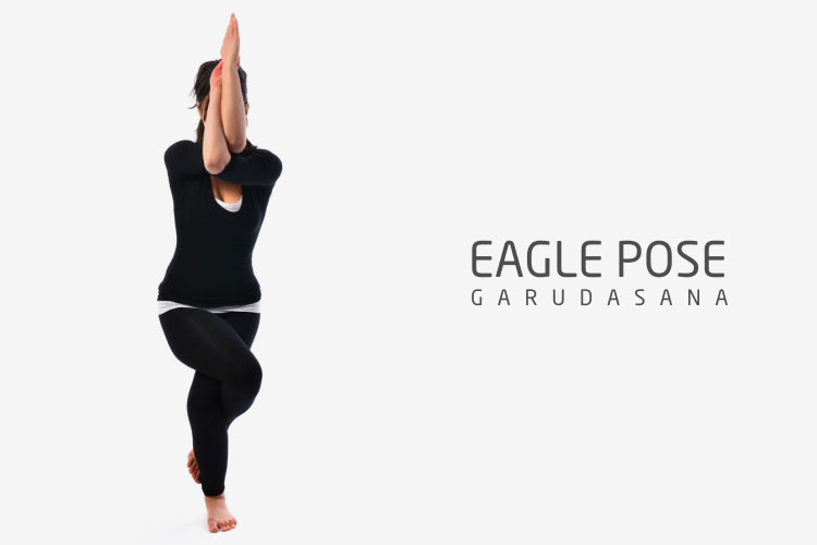 Yoga Posture Guide - The Eagle Pose (Garuda-asana)