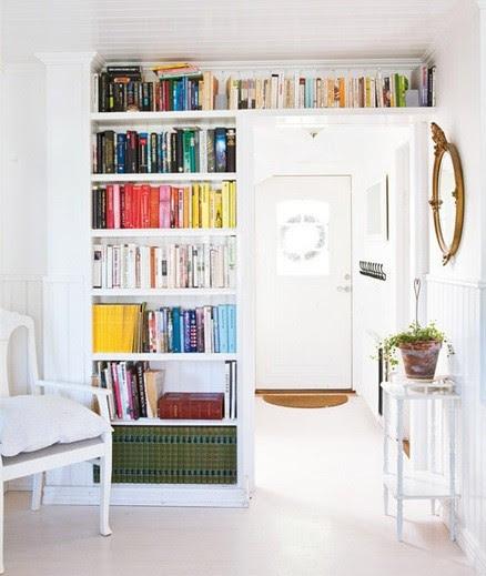 storage above the door