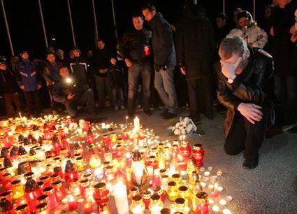 Ocskay Memorial candles, Ocskay Memorial candles