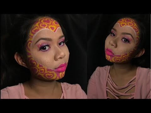 Makeup Inspired by Emoji Heart 💖 | MALAYSIA